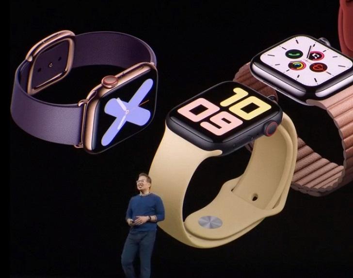 Анонсированы смарт-часы Apple Watch Series 5