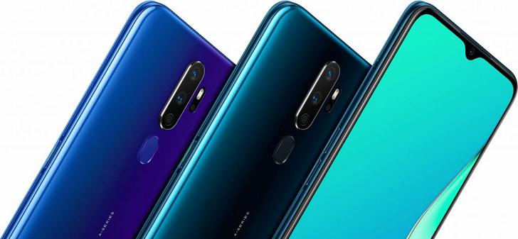 OPPO A9 2020 представлен официально – конкурент для Xiaomi Mi A3