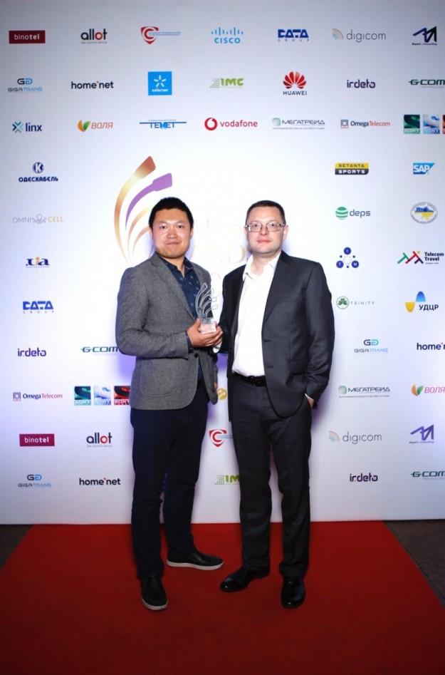 Huawei признан производителем года телеком-оборудования и решений в Украине