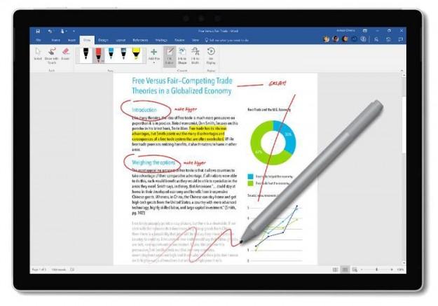 Новое перо Microsoft Surface Pen может получить беспроводную зарядку