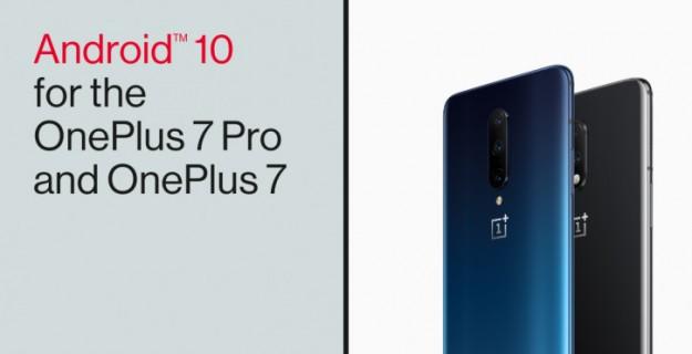 OnePlus 7 и 7 Pro получили Android 10 с Oxygen OS 10.0