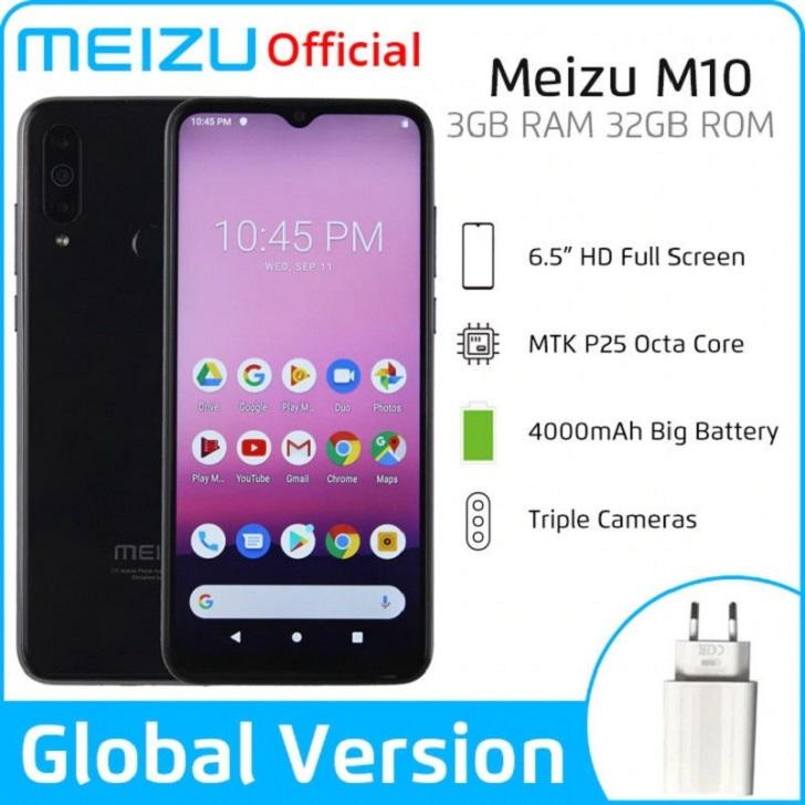 Meizu M10 представлен официально