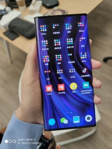 Живые фото и видео футуристичного концептофона Xiaomi Mi Mix Alpha. Ждать выхода и покупать?