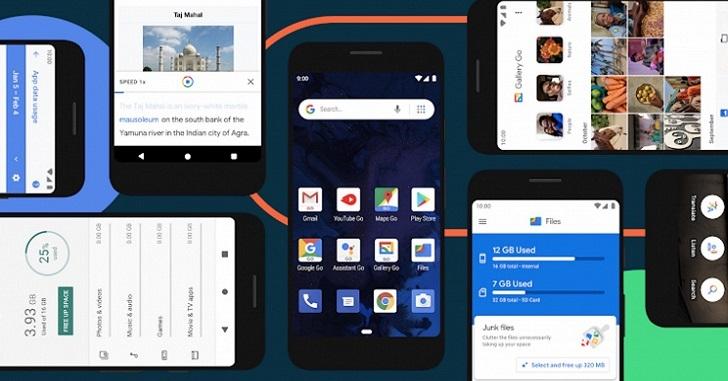 Анонсирована операционная система Android 10 (Go Edition)