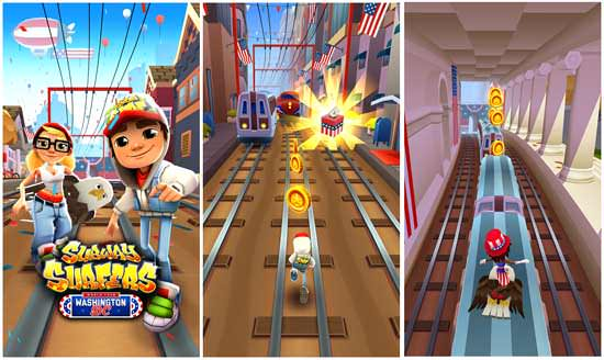 Легендарная игра Subway Surfers на андроид