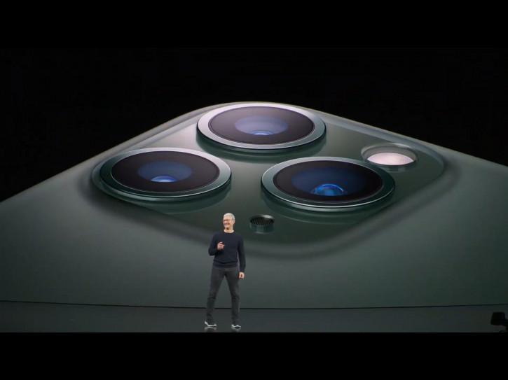 Анонс iPhone 11 Pro и 11 Pro Max – премиальная серия с тройной камерой