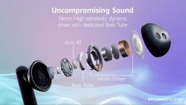 Анонс Huawei Freebuds 3 и Kirin A1 – TWS-наушники с активным шумодавом