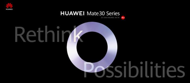 Официально: Huawei Mate 30 «пересмотрит возможности» 19 сентября