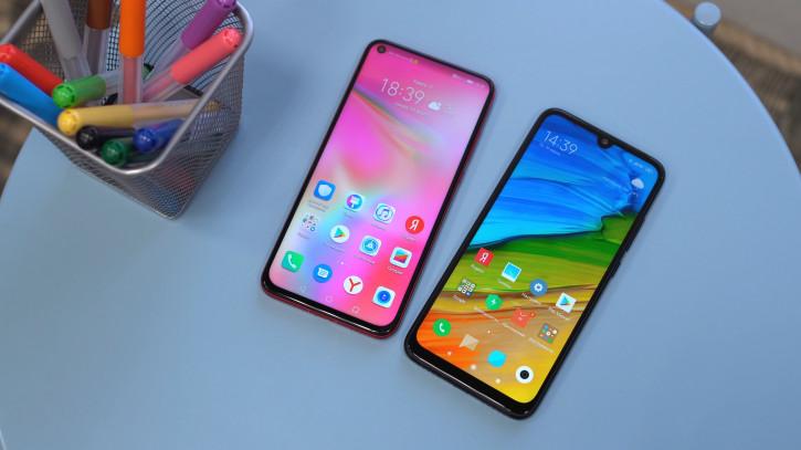 Redmi Note 7 и Galaxy A50  – самые популярные смартфоны в России