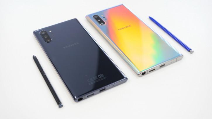 Распаковка Samsung Galaxy Note 10+ на Snapdragon и Exynos (ВИДЕО)
