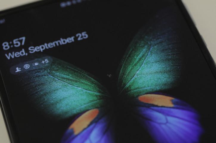Складной Samsung Galaxy Fold вновь испытывает проблемы с экраном