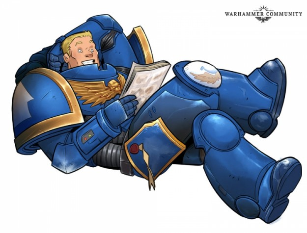Marvel начнёт выпускать комиксы по вселенной Warhammer 40,000