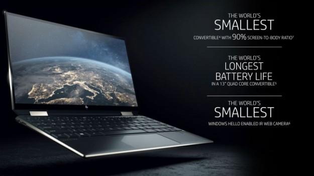 HP представила высококлассный ноутбук-трансформер Spectre x360 13 (2019)