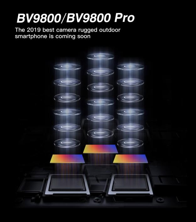Blackview представит лучший в мире защищенный смартфон с тройной камерой, включая модуль SONY на 48 Мпикс.