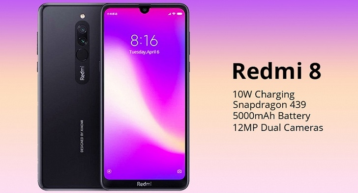 Глобальную версию Xiaomi Redmi 8 продают за 125 долларов