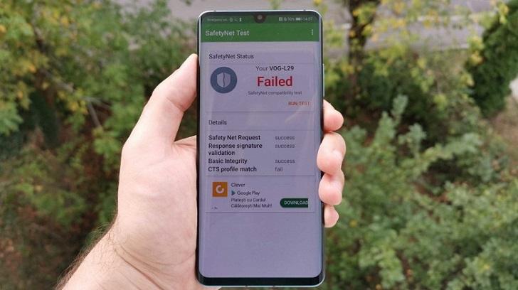 Huawei устранила проблему с прохождением теста безопасности SafetyNet