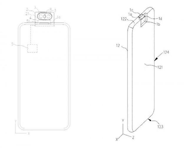 OPPO проектирует новый смартфон с откидной камерой