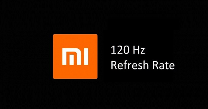 Xiaomi представит смартфон с экраном 120 Гц