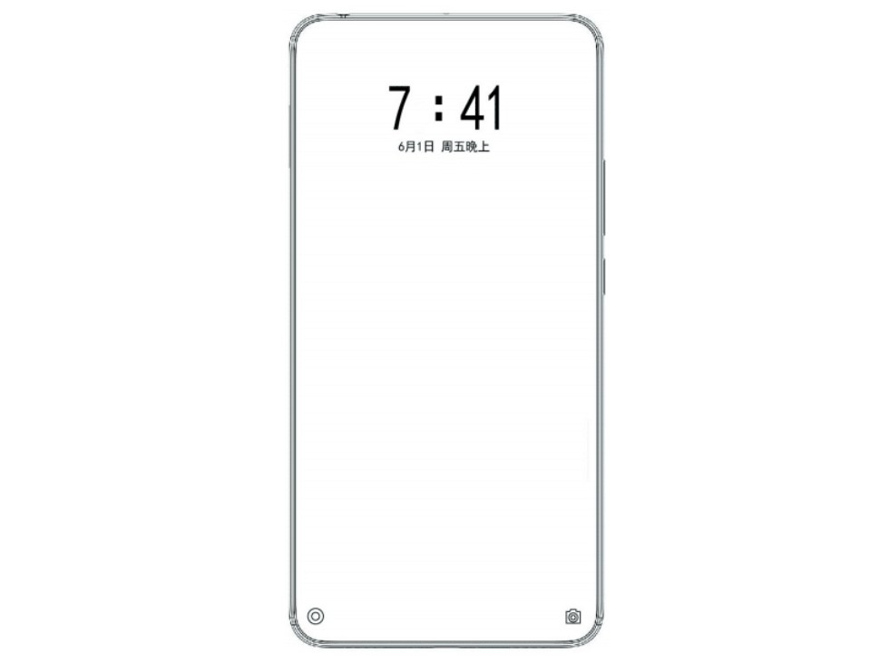 Xiaomi запатентовала смартфон с двойной скрытой камерой
