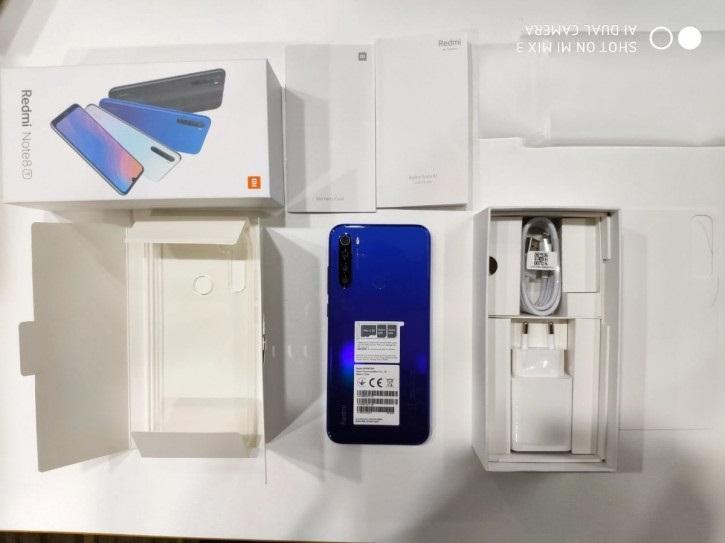 Xiaomi Redmi Note 8T замечен на реальных фотографиях