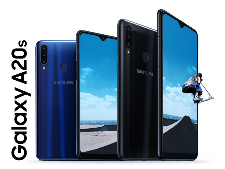 Анонс Samsung Galaxy A20s – теперь с LCD и тройной камерой