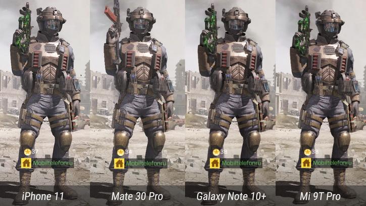 Android против iPhone в Call of Duty Mobile: тест на 9 смартфонах