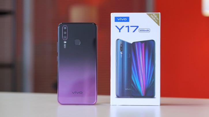 Обзор Vivo Y17: стильный смартфон с NFC, большой батареей и «шириком»