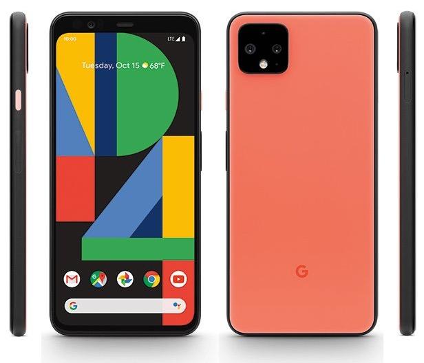 «Ох, такой оранжевый» рендер Google Pixel 4 (XL)