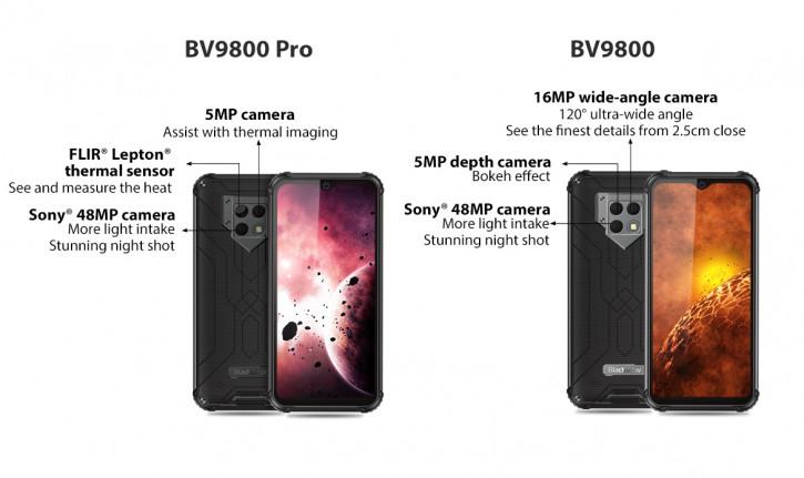 Релизный ролик и первые итоги кампании Blackview BV9800 на Kickstarter