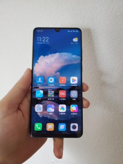 Живые фото Xiaomi CC9 Pro с пента-камерой с двух сторон