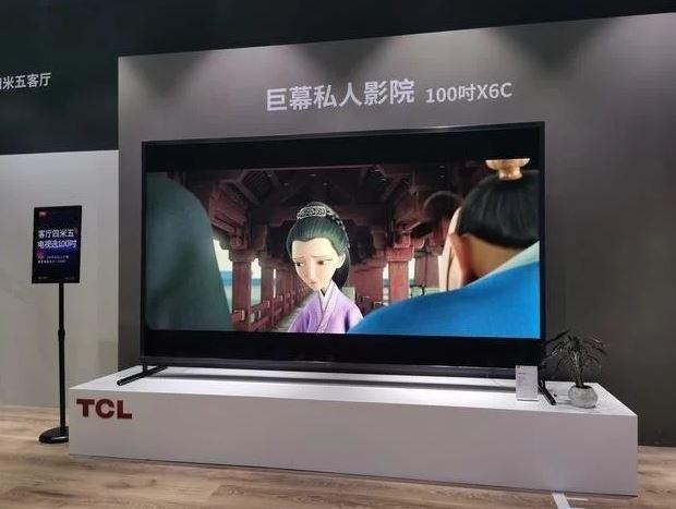 Анонсирован 100-дюймовый умный телевизор TCL Smart TV 100X6C за 11 385 долларов