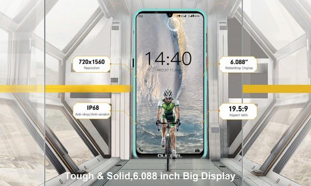Oukitel представила смартфон Y1000 за .99