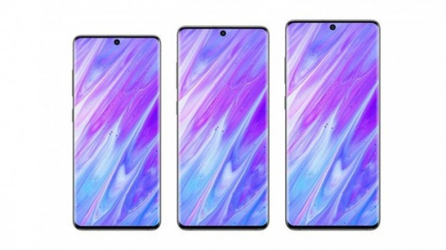 Концепт Samsung Galaxy S11 на основе последних утечек сравнение с S10