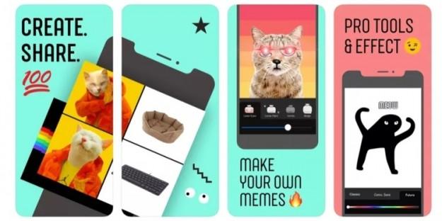 Facebook запустила новое приложение для создания мемов