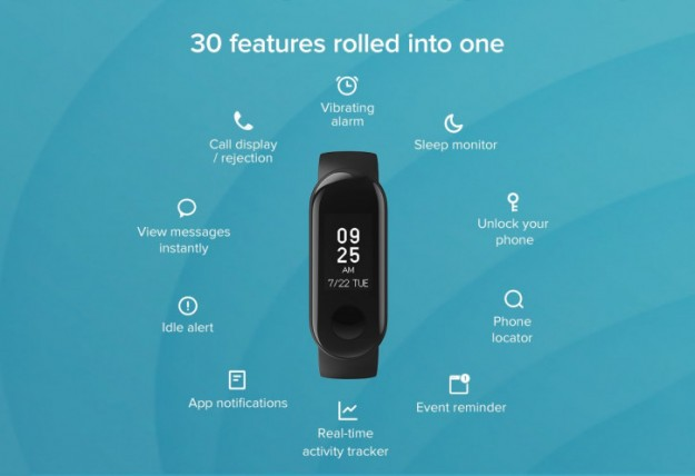 Анонс Xiaomi Mi Band 3i – лайт-версия хитового фитнес-браслета