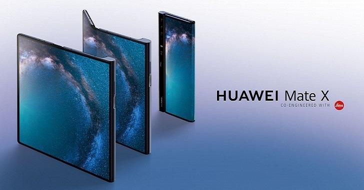 Huawei Mate X сметают с полок магазинов