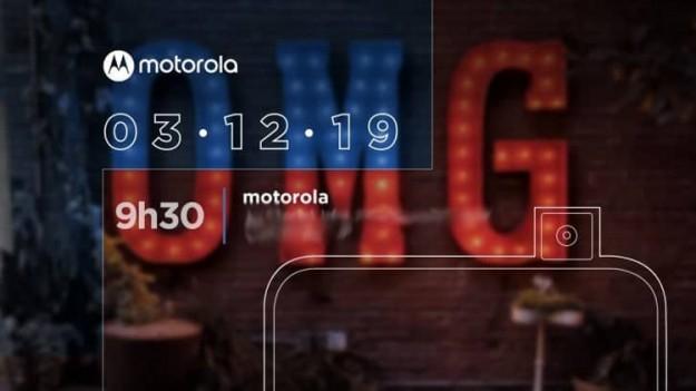 Анонс смартфона Motorola One Hyper с выдвижной камерой состоится на следующей неделе