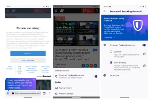 Вышел мобильный браузер Firefox Preview 3.0