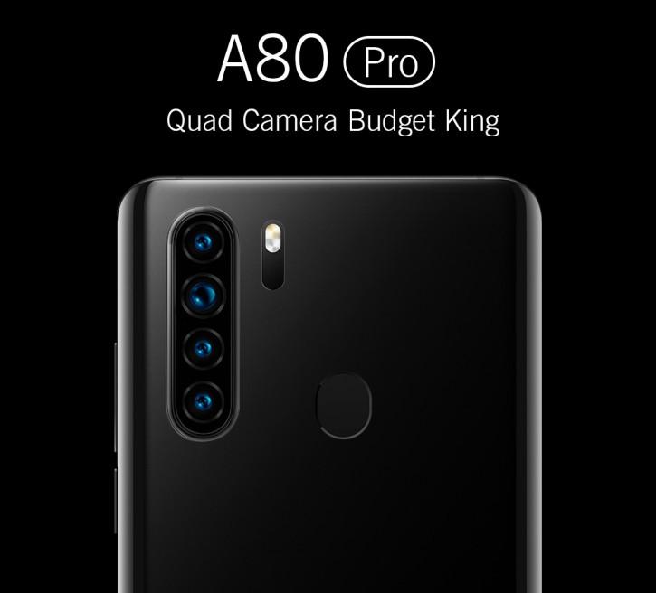 Blackview готовит ультрабюджетку А80 Pro с Quad-камерой