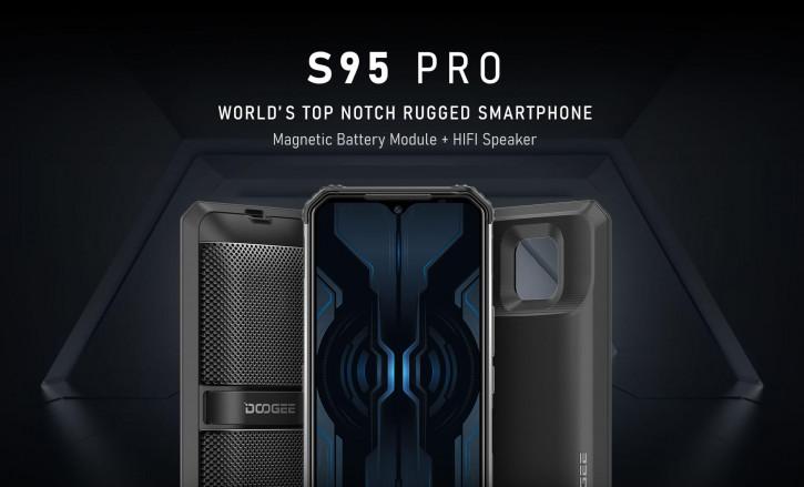 Doogee S95 Pro: знакомая модульная защищенка с большим объемом памяти