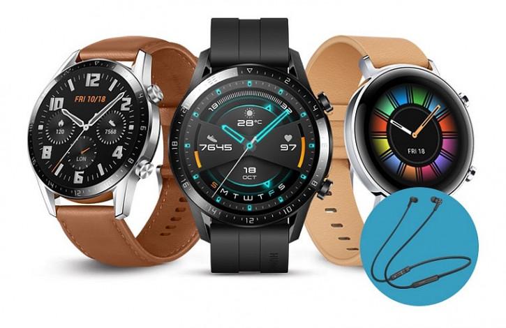 Второе издание Huawei Watch GT 2 доступно для предзаказа в России