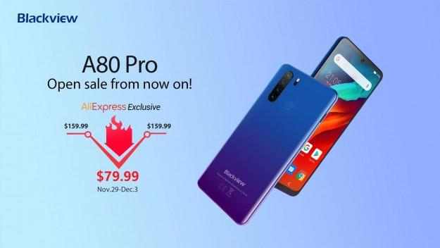 Blackview A80 Pro до 4 декабря – цена $79,99 только на AliExpress