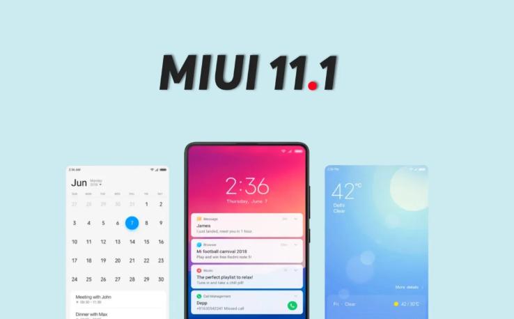 MIUI 11.1 - режим фокусировки, изменения в лаунчере, камере, часах и функция супер энергос ...