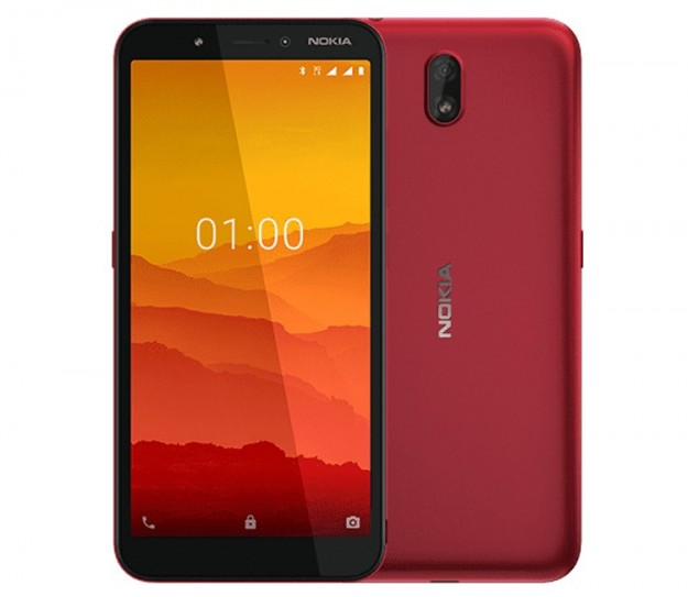 Nokia C1: смартфон за  на базе Android Pie Go Edition