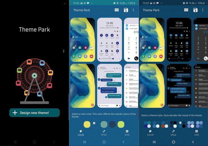 Дождались! Samsung выпустила приложение для создания собственных тем