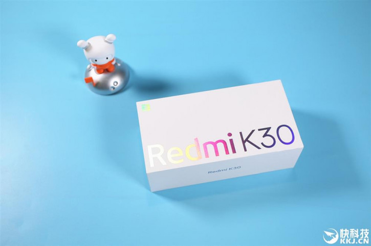 Xiaomi Redmi K30: больше живых фото в двух цветах