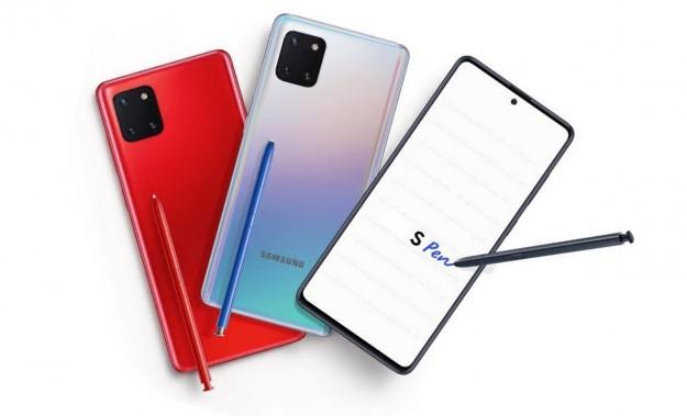 Samsung Galaxy Note 10 Lite во всех деталях на фото