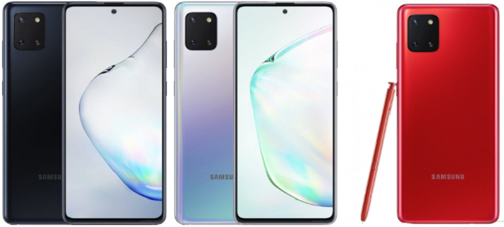 Анонсирован смартфон со стилусом Samsung Galaxy Note 10 Lite