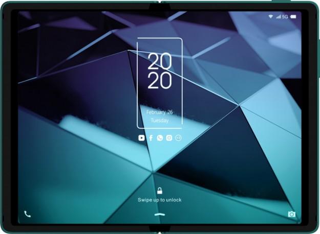 TCL показала свой «Galaxy Fold» на CES 2020