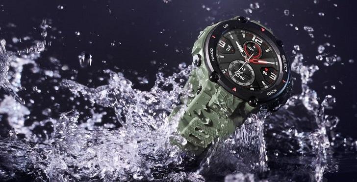 Защищённые смарт-часы Amazfit T-Rex оценили в 140 долларов